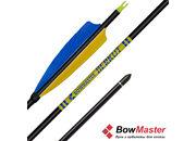 Стрела для лука Bowmaster Berkut натуральное оперение 5'' Parabolic (Боумастер Беркут)