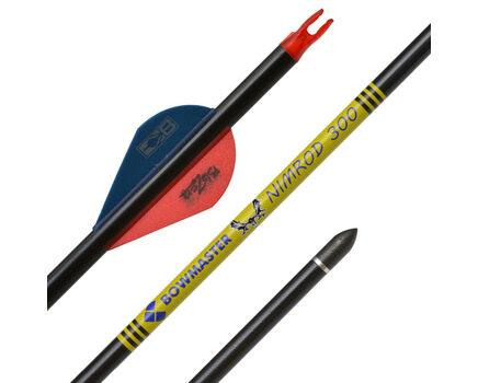 """Купите карбоновые стрелы для лука Bowmaster Nimrod с оперением Blazer 2"""" (Боумастер Нимрод) спортивные в интернет-магазине"""