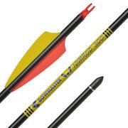 """Карбоновая стрела для лука Bowmaster Nimrod с оперением Shield 3"""" (Боумастер Нимрод)"""