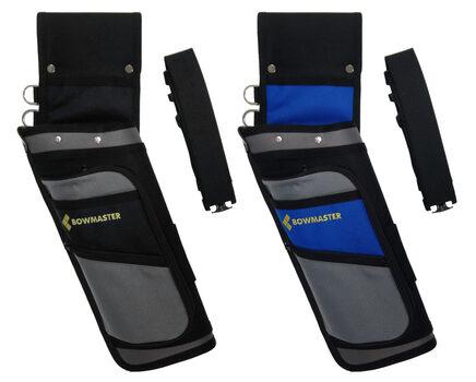 Купите колчан для стрел Bowmaster с 2 карманами и ремнем в интернет-магазине