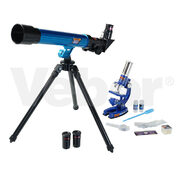 Микроскоп-монокуляр детский Микромед MP-450 и телескоп
