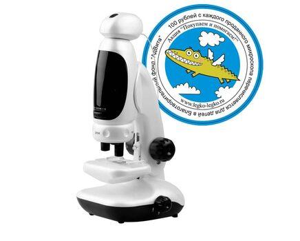 Купите детский цифровой микроскоп EVA с подключением к компьютеру в интернет-магазине