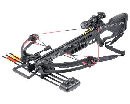 Купите блочный арбалет Man-Kung MK-380 черный в Нижнем Новгороде в интернет-магазине