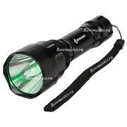 Светодиодный фонарь для охоты зеленого света Bowmaster 202 Flash Green (Cree Q5) 250 люмен