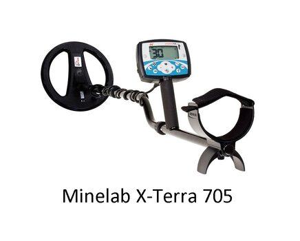Металлоискатель Minelab - X-Terra 705 (Катушка 10,5 М)